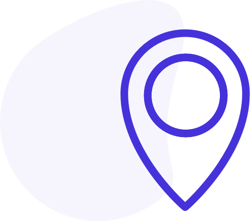 A map pin icon